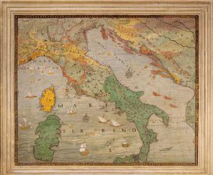 Cortona Cartina Geografica.La Galleria